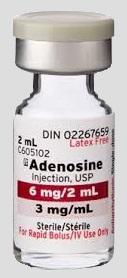 Flacon adenosine